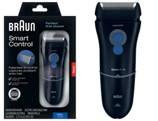Braun Smart Control Corded Shaver