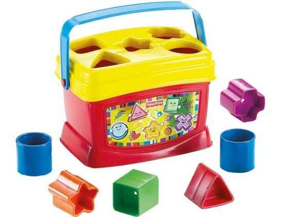 Fisher-Price Brilliant Basics Babys First Blocks