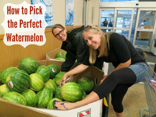 How to Pick the Perfect Watermelon