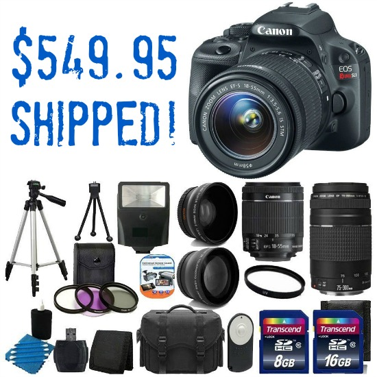 canon camera deal