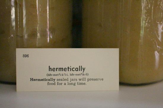 hermetically