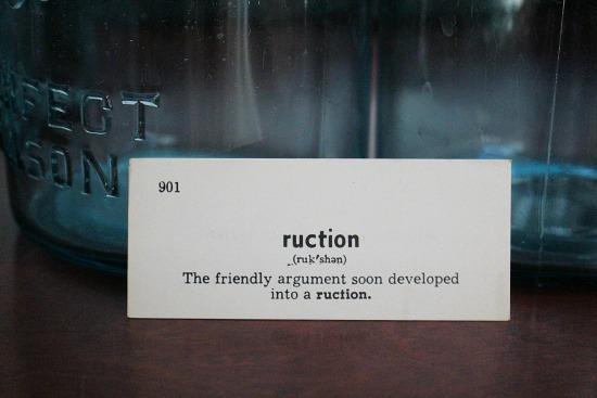 ruction