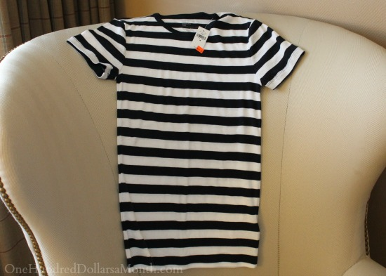 striped gap t shirt