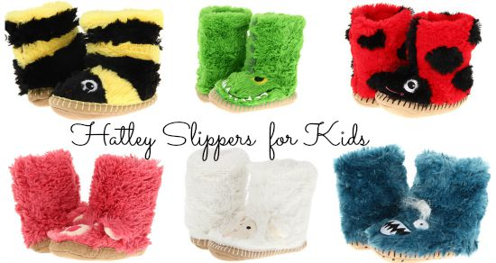 Hatley slippers for kids