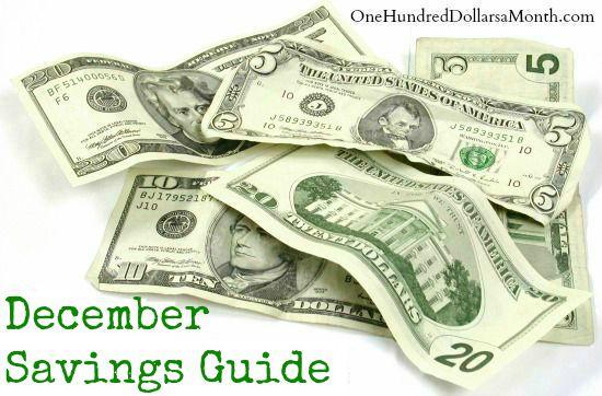 december savings guide