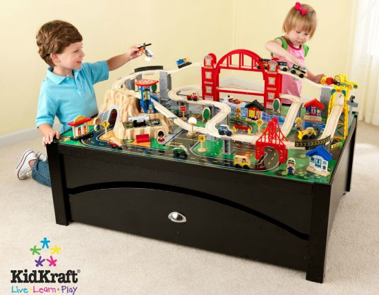 kid kraft train table