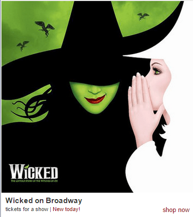 wicked tickets on broadway