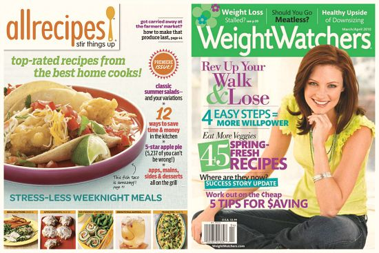 allrecipes magazine deal