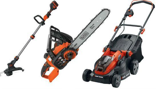black and decker chainsaw
