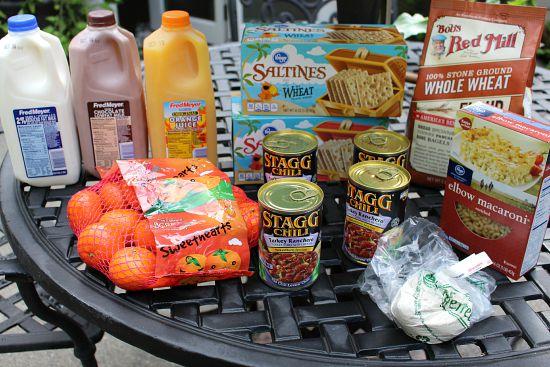 fred Meyer shopping trip