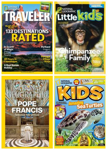 national geographic magazine for kids