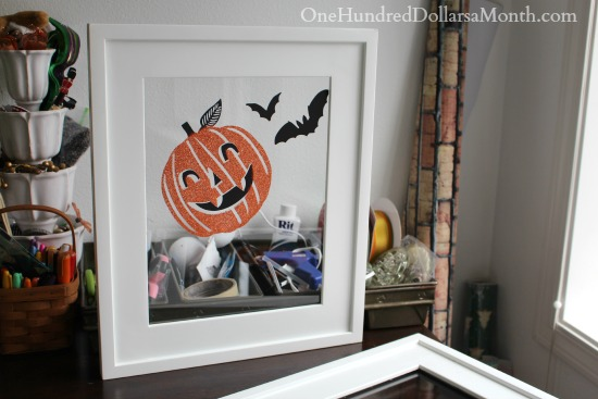 Upcycled Picture Frames - Using Frames for Holiday Decor