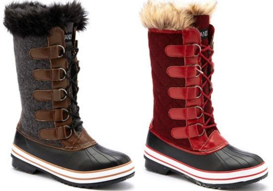 jands tall duck boots