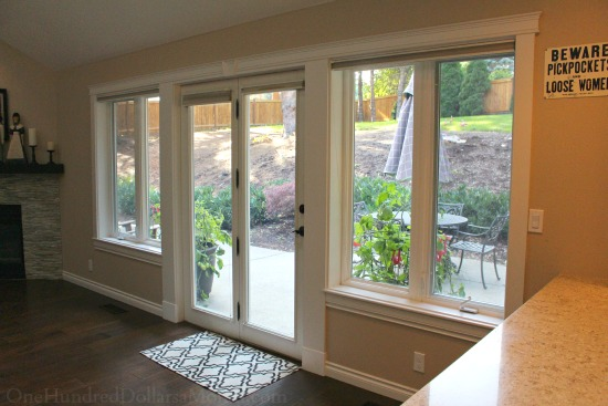 Window Treatments For Patio Doors Curtains Blinds Shades Or Nothing At All One Hundred Dollars A Month