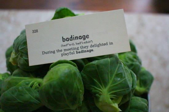 badinage