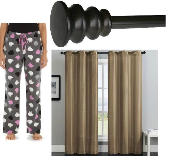 cheap curtain rods
