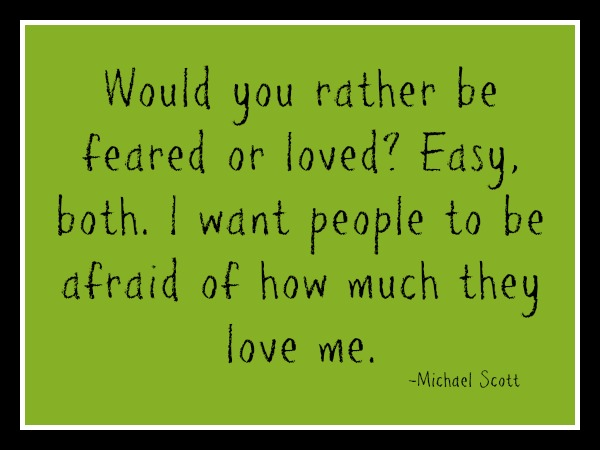 would you rather be loved or feared essay People have been trying to develop a system of how to rule effectively while ac   essay on machiavelli's, the prince: how it is better to be a leader that is feared  and not hated, rather than loved  niccolo machiavelli 1 u.
