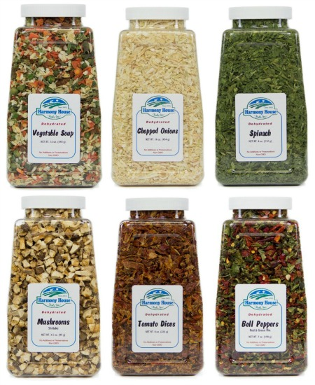 harmony house dehydrated foods