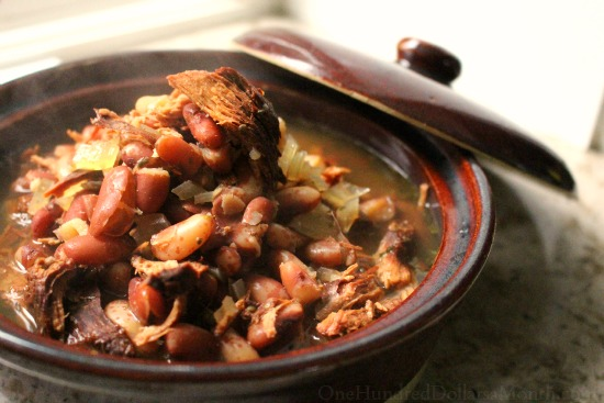 Rustic Cranberry Bean Soup