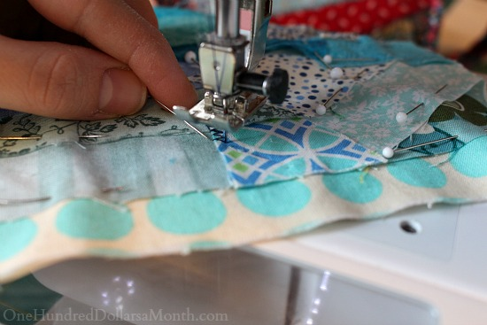 how to make crazy patch pot holders