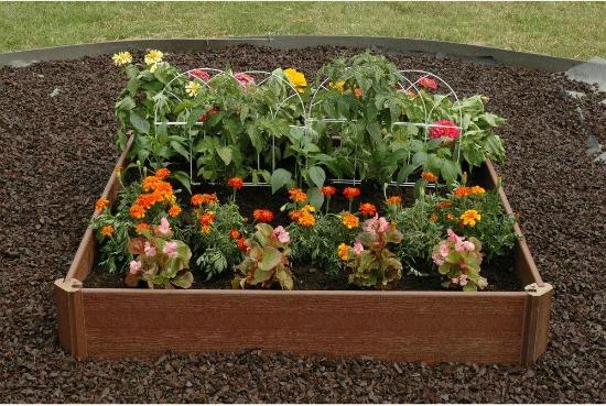 raised garden box kit