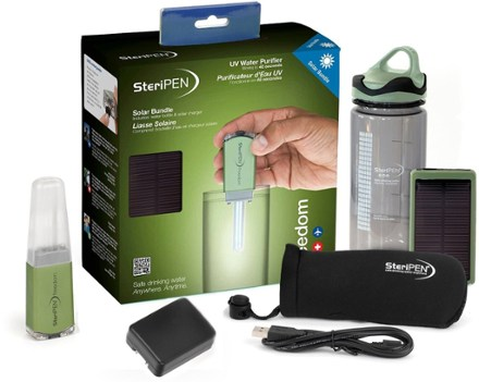 SteriPEN Freedom Solar Bundle Water Purifier