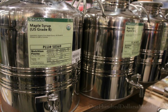 bulk maple syrup