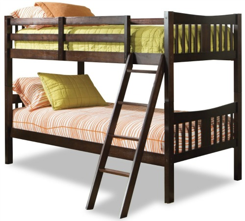 Good Get the Stork Craft Caribou Bunk Beds for just shipped There are a few different colors to choose from at this price