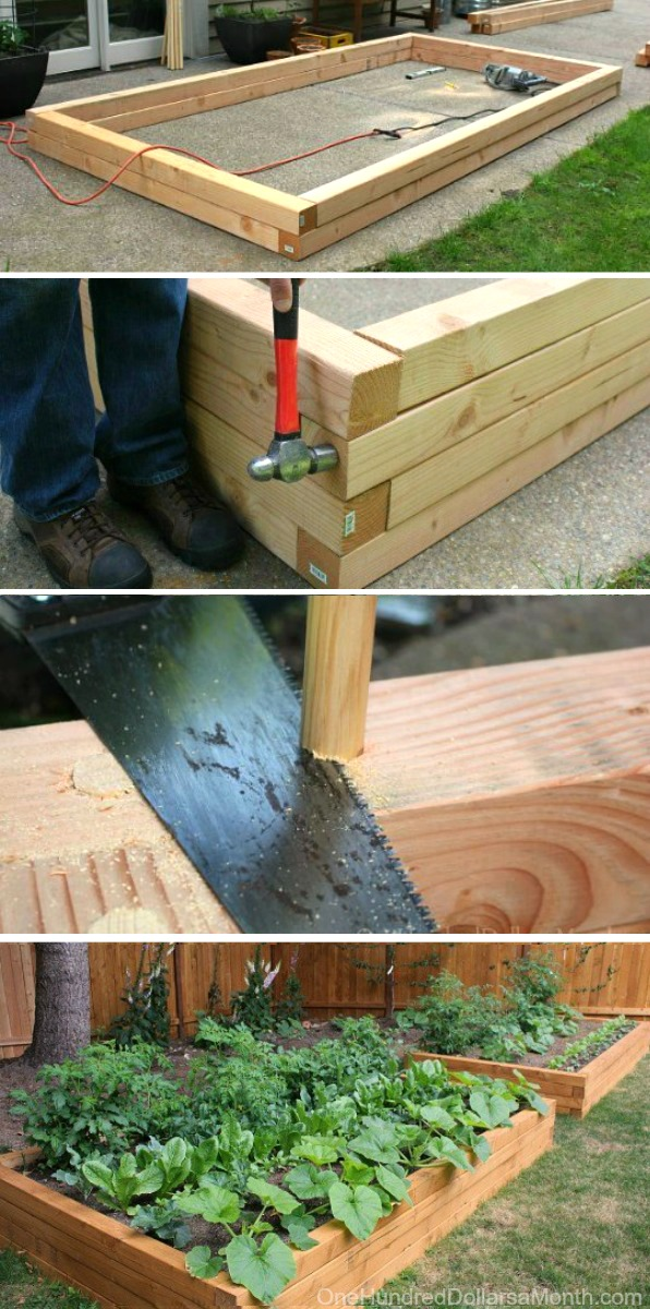 how to build raised garden. How To Build Raised Garden Beds For Growing Vegetables