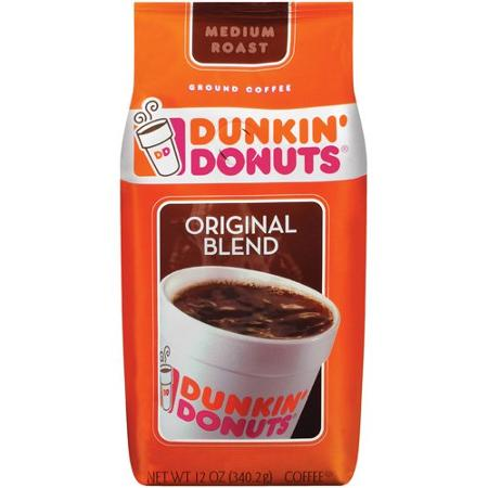 Dunkin Donuts Bag of Coffee coupons