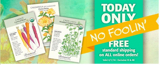 botanical interests coupon