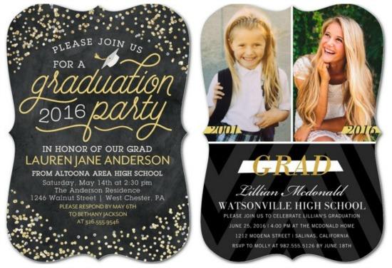 cool graduation announcements