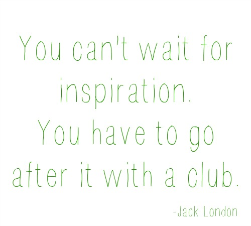 quote- jack london