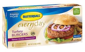 butterball frozen turkey burgers coupon