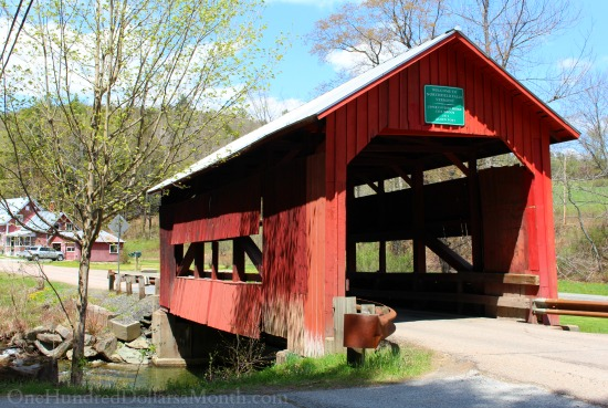 covered bridge norwich vermont