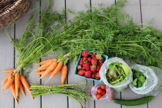 farmers market produce vegetables