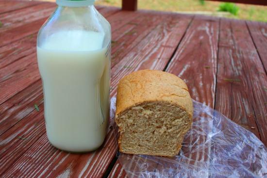 local milk bread