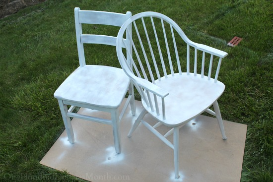 painting chairs