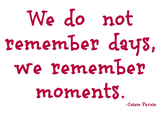 quotes - we do not remember