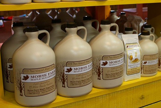real maple syrup