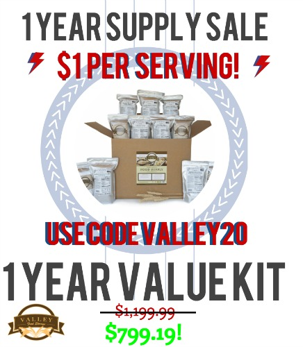 1 year supply sale