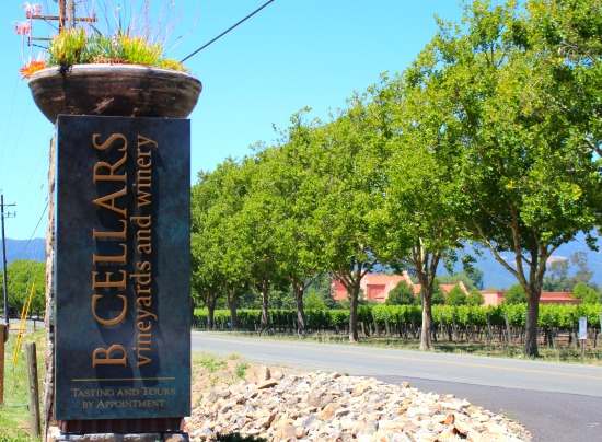 b cellars winery tour