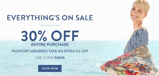 chicos coupon code