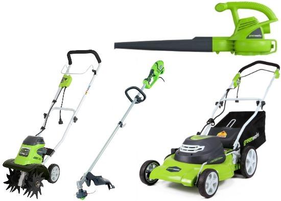 greenworks mower