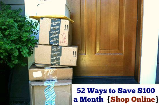 52 Ways to Save $100 a Month  Shop Online {Week 26 of 52}