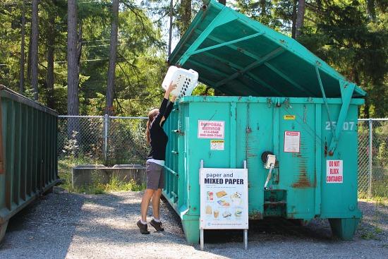garbage recycle trash