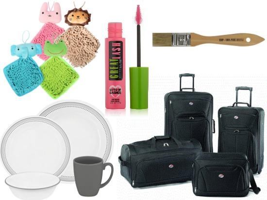 inexpensive luggage set