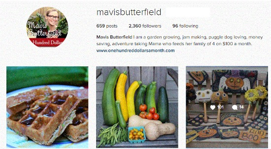 mavis butterfield instagram