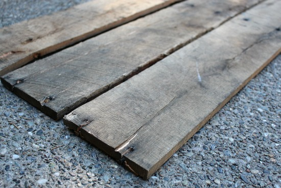 wood pallet boards