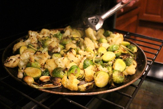 roasted-brussel-sprouts-and-cauliflower